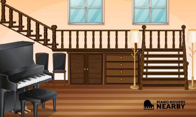 How to Move a Piano Upstairs or Down?